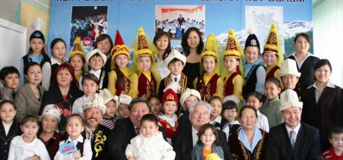 Кыргызские диаспоры в Казахстане чествуют Чынгыза Айтматова