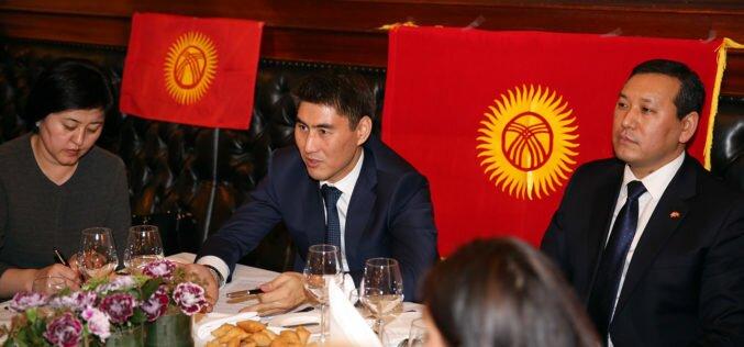 Глава МИД Айдарбеков встретился с кыргызстанцами в Норвегии