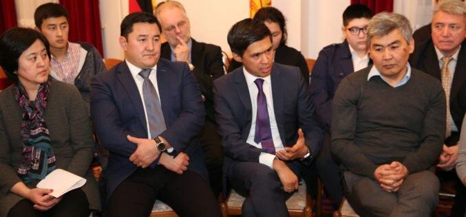 Глава МИД встретился с кыргызстанцами в Индии и ФРГ