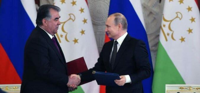 Владимир Путин пообещал амнистию для таджикских мигрантов
