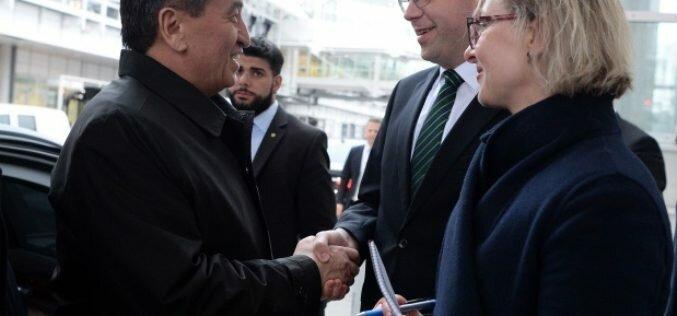Президент КР встретится с работающими и учащимися в Германии соотечественниками