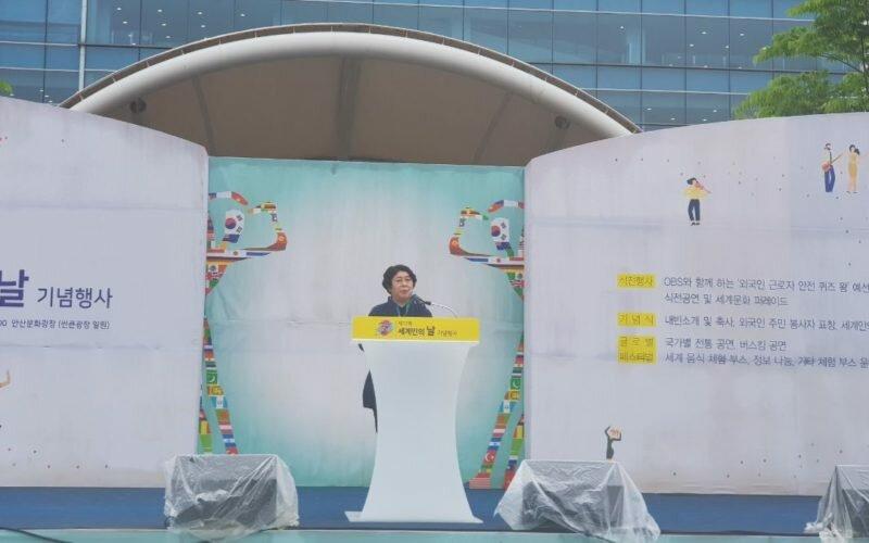 Түштүк Кореядагы фестивалга кыргыз диаспорасынын өкүлдөрү катышты