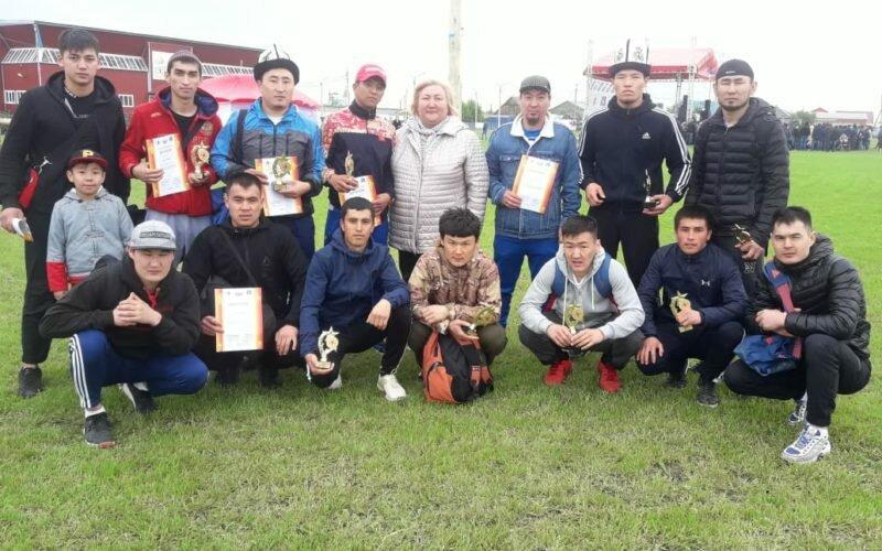Тюмендик кыргыздар эмгекте эле эмес, спортто да абдан активдүү