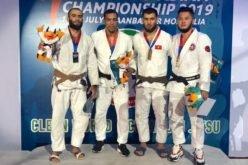 Кыргызстанцы удачно стартовали на чемпионате Азии по джиу-джитсу.