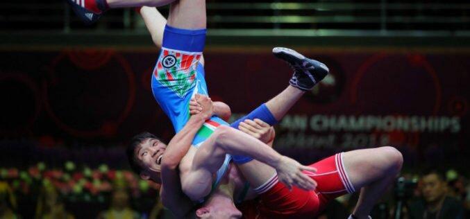 У кыргызстанцев три медали на старте чемпионата Азии по борьбе