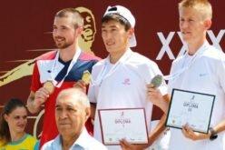 Кыргызстанец  выиграл золото на международном турнире по легкой атлетике.
