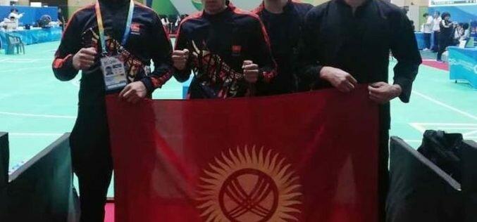 У Кыргызстана четыре медали на турнире по пенчак силату на Играх боевых искусств