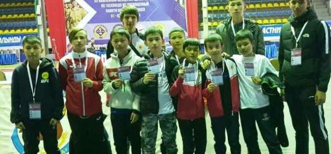 Таэквондисты из Кыргызстана выиграли три медали в Казахстане